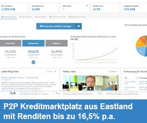Bondora - P2P Lending Marktplatz