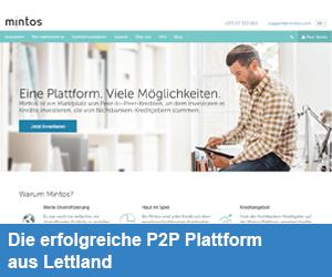 Mintos - P2P Lending Marktplatz